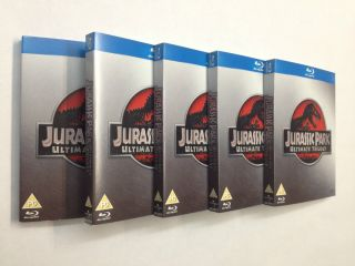 Ultimate Trilogy Collection 3 Disc Blu Ray DVD Special Box Set