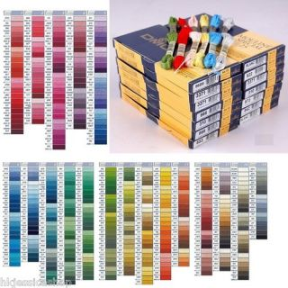 Complete Set 447 DMC Cross Stitch Embroidery Floss New