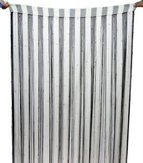 Decorative Curtain Drapes Beaded Door Window Valance Wall Hanging