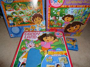 Price Nick Jr Go Diego Go Dora the Explorer Candy Land Game Puzzles