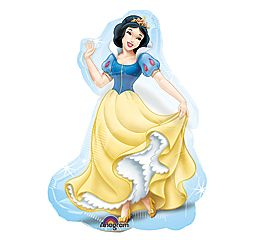 Snow White Princess 12 Air Filled Cup Stick Included Mylar Balloon 10