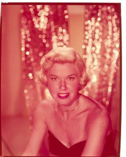 Doris Day Original Vintage 8 x 10 Studio Color Transparency Charming