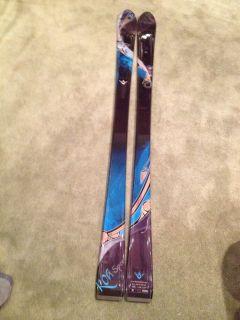 Fischer Womens Alpine Downhill Skis Koa Sport 155cm New