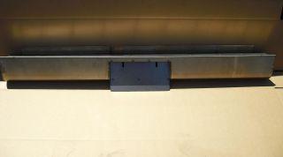 Steel Rollpan 97 04 Dodge Dakota Center License Plate Box FREE LIGHT
