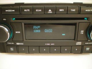 05 06 07 Dodge RAM Truck Factory 6 Disc CD  Player Changer RAQ