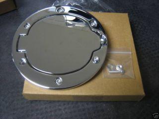 Dodge RAM 03 08 Chromed Aluminum Fuel Filler Door Gas