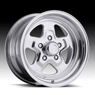 15x7 Sport Star Pro Drag Racing Wheel 5x4 5 1pc No Weld