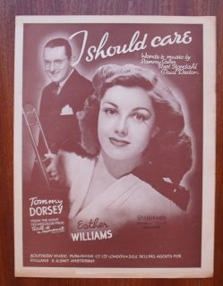 Tommy Dorsey Esther Williams I should care European publication