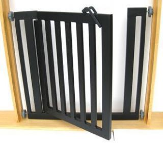 Libro Dog Gate Pressure Mounted Durable Metal Pet Gate