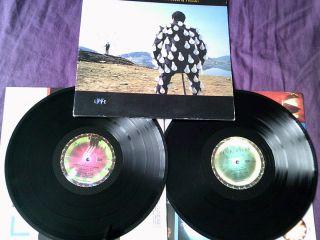 PINK FLOYD delicate sound of thunder 1988 2LP FIRST UK PRESS EMI LAB