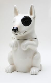 DOG CRAVES FOR COOKIES CERAMIC COOKIE JAR KITCHEN DÉCOR/DOG TREAT