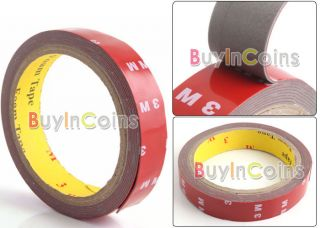3M Auto Acrylic Foam Double Sided Attachment Tape 6mm 8mm 10mm 20mm