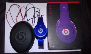 Monster Beats by Dr. Dre Studio Headphones (White)   New In Box