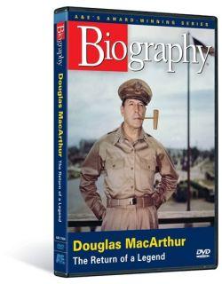 Douglas MacArthur New A E Biography DVD General