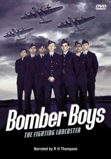 BOMBER BOYS THE FIGHTING LANCASTER DVD NEWWW2 WAR PLANE WARPLANE RAF