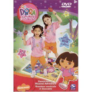 Dora The Explorer Dance Along Musical Adventure DVD