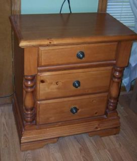 Ashley Knoy Pine Cannon Ball Queen Bedroom Se Bed Dresser Nigh
