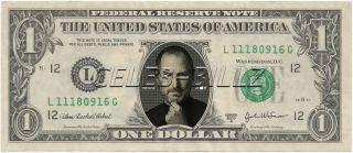 Steve Jobs Dollar Bill Apple 20 Bill Package Collectible Novelty Money