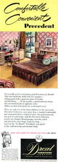 Drexel Furniture Precedent Collection Edward Wormley Bedroom 1951