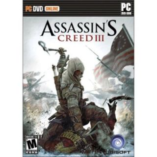 Assassins Creed III 3 PC DVD Brand New SEALED