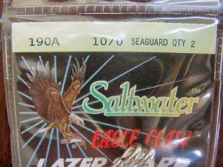 Eagle Claw Lazer Sharp 10/0 Circle Hooks Saltwater Hooks  Sea