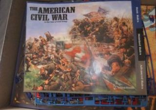 The American Civil War Board Game by Eagle Games