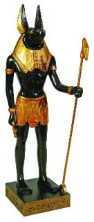 Ancient Egypt Egyptian God Anubis 12 Figurine Statue