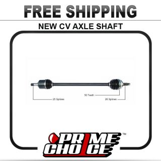 New Complete CV Joint Axle Shaft Assembly for Fits Front Left Driver