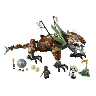 Lego Ninjago Earth Dragon Defense 2509 New in Box