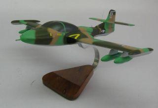 37 Dragonfly A37 Airplane Desk Wood Model Free SHIP