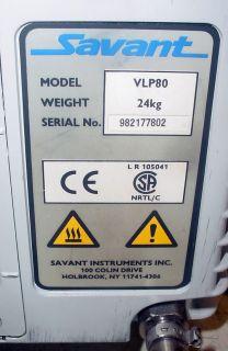 VLP80 Valupump 115V 2 3CFM Dual Stage Rotary Vane Vacuum Pump