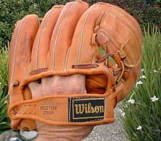 Early Wynn Wilson Professional Model Baseball Glove