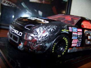Dale Earnhardt Car GMGW 3 1 24 Simulated Crash Car 1997 Winners Circle