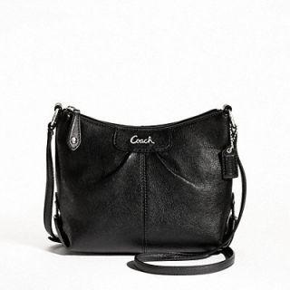 Coach 46872 Ashley Leather Swing Pack Cross Body Messenger Bag Purse