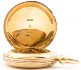 Solid Gold E Howard Co 18s Series III Hunt Case Pocket Watch