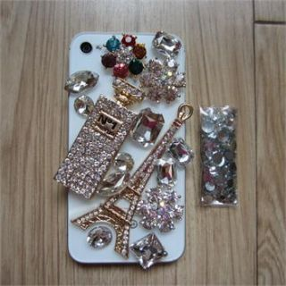 Perfume Bottle Deco Kits For DIY Mobile Phone IPhone 4G 4S Case Shell