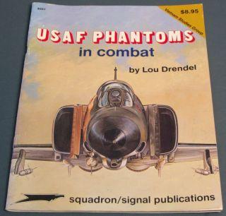 USAF Phantoms in Combat by Lou Drendel Vietnam Studies Group Paperback