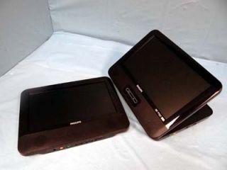 PD9012 37 Portable Car DVD Player Dual 9 LCD Screens L K