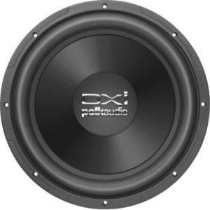 Polk Audio DXI124 DVC 12 Dual Voice Coil 4 Ohm Subwoofer   Black