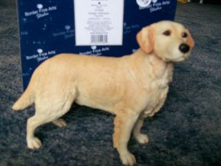 Border Fine Arts Dog Puppy Golden Retriever Figurine Figure Statue
