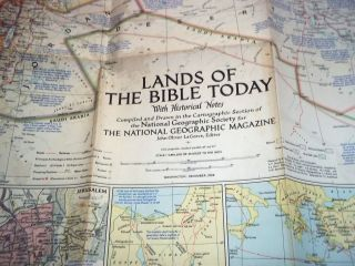 Lands of the Bible Today Middle East Eastern Mediterranean Holy Land
