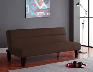 Dorel Home Products Kebo Futon Red Black Brown or Grey