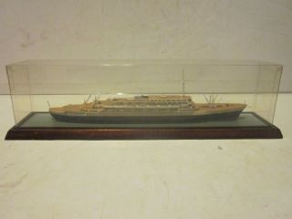 SPIELZEUG RIWAG WOODEN SCALE MODEL CRUISE LINE SHIP THE ANDREA DORIA