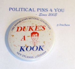 Campaign Pin Pinback Button Badge Michael Dukakis 1988