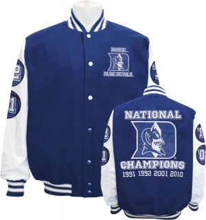 Duke Blue Devils Commemorative Championship Varsity Jacket