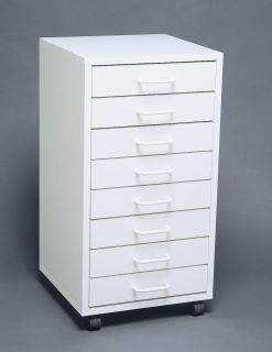 Dental/Medical ~ 8 Drawer ~ MOBILE CABINET/STORAGE CART