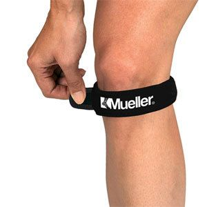 Mueller Jumpers Knee Strap Patella Tendon Brace Black