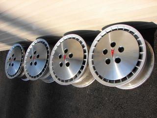 82 83 Pontiac Trans Am 15x7 Turbocast Knight Rider Wheels