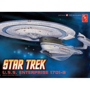 AMT 676 Star Trek USS Enterprise NCC 1701B Plastic Model Kit 1 1000