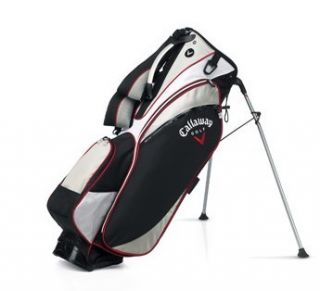 New Callaway Chev 18 Black Stand Bag Double Strap Close Out